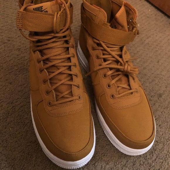 """41466c9579a2 Nike SF Air Force 1 Mid """" Desert Ochre"""" Mens Shoe. NWT"""